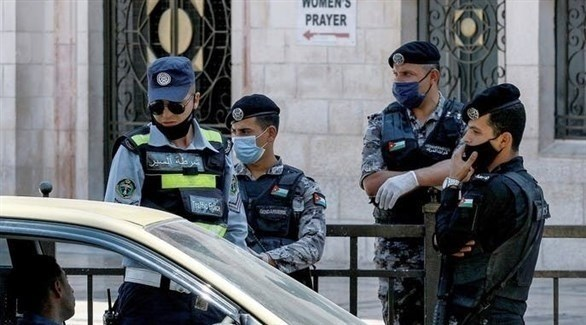 عناصر من الأمن الأردني (أرشيف)