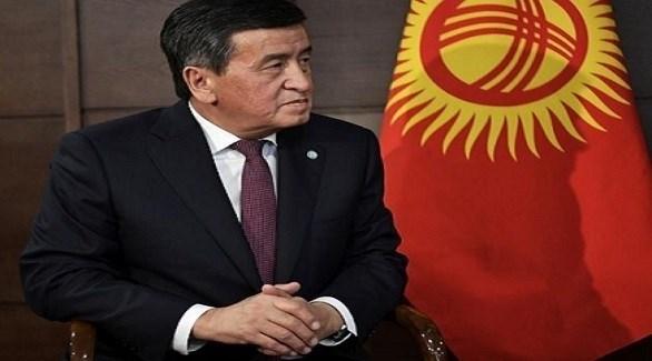 رئيس قرغيزستان سورونباي جينبيكوف (أرشيف)