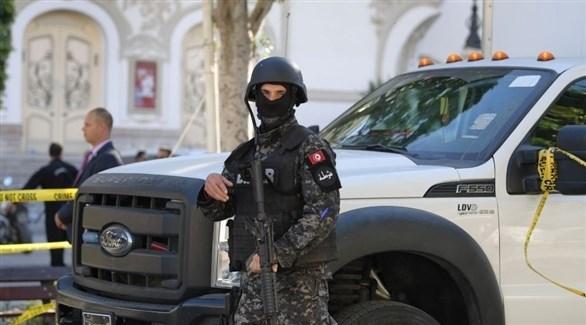 عنصر من جهاز الأمن في تونس (أرشيف)