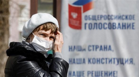 روسية في موسكو (أرشيف)