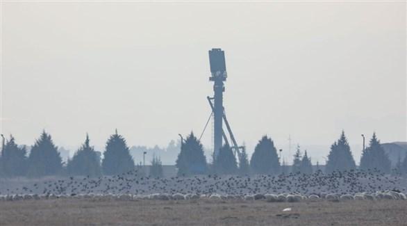 منصة أس  400 الروسية في قاعدة تركية (أرشيف)