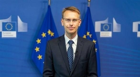 المتحدث باسم المفوضية الأوروبية بيتر ستانو (أرشيف)