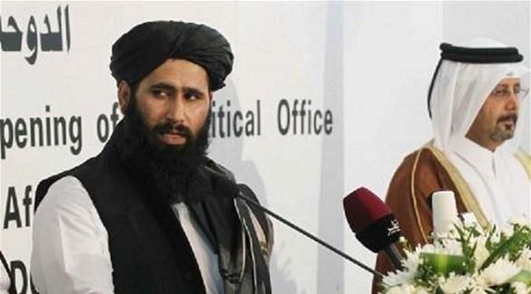 المتحدث باسم حركة طالبان محمد نعيم (أرشيف)