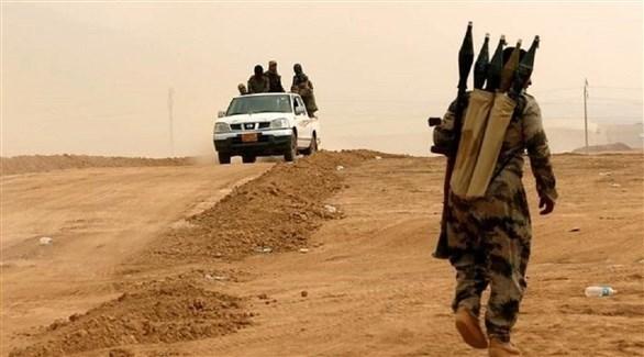 مسلحون من داعش في العراق (أرشيف)