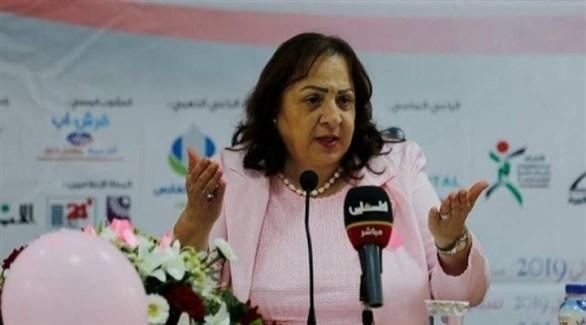وزيرة الصحة الفلسطينية مي الكيلة (أرشيف)