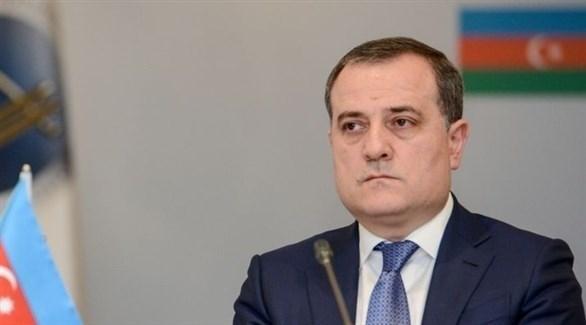وزير خارجية أذربيجان جيهون بيراموف (أرشيف)