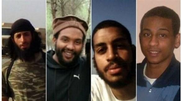 أعضاء مجموعة بيتلز الإرهابية (أرشيف)
