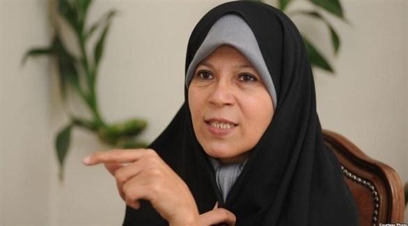 فائزة الهاشمي  ابنة الرئيس الإيراني الراحل علي أكبر هاشمي رفسنجاني (أرشيف)