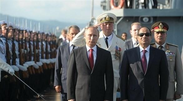 الرئيسان المصري عبدالفتاح السيسي والروسي فلاديمير بوتين (أرشيف)