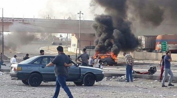 انفجار سابق في الموصل العراقية (أرشيف)