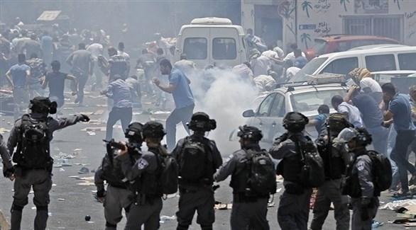 مواجهات بين الشرطة الإسرائيلية وشبان فلسطينيين (أرشيف)
