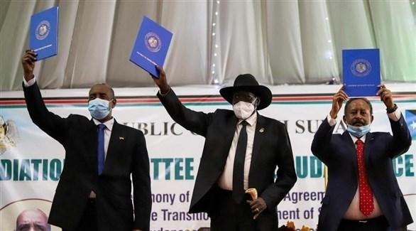 من توقيع اتفاق السلام بين السودان والحركات المسلحة (أرشيف)