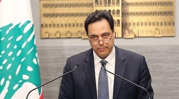 رئيس حكومة تصريف الأعمال اللبنانية حسان دياب (أرشيف)