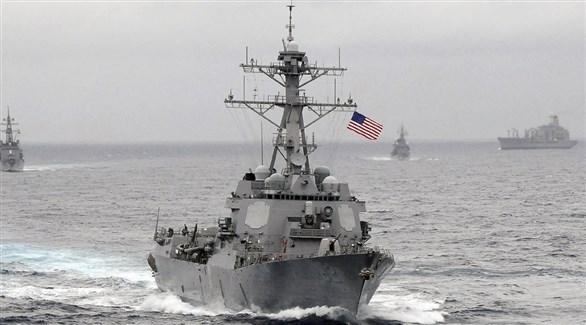 مدمرة تابعة لسلاح البحرية الأمريكي (أرشيف)