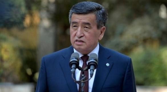 رئيس قرغيزستان سورونباي جينيبكوف (أرشيف)