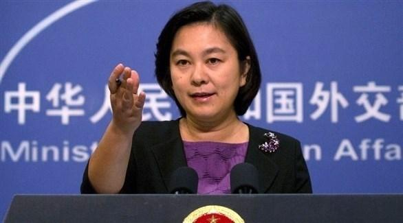 المتحدثة باسم وزارة الخارجية الصينية هوا تشون يينغ (أرشيف)
