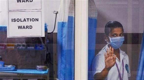 ممرضة في أحد مستشفيات كيرالا الهندية (أرشيف)