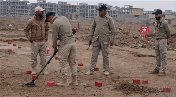 خبراء تفكيك ألغام في العراق (أرشيف)