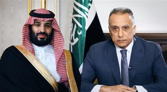 رئيس الوزراء العراقي مصطفى الكاظمي وولي العهد السعودي محمد بن سلمان (أرشيف)