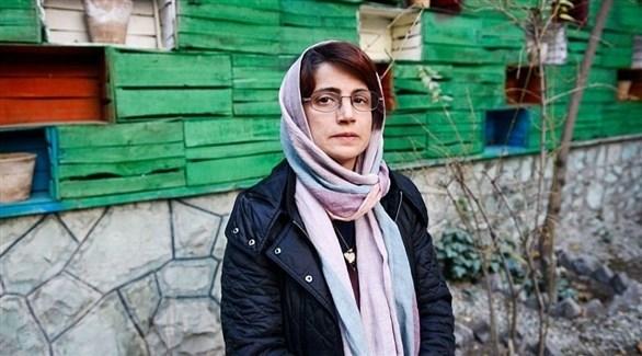الناشطة الحقوقية الإيرانية نسرين ستوده (أرشيف)