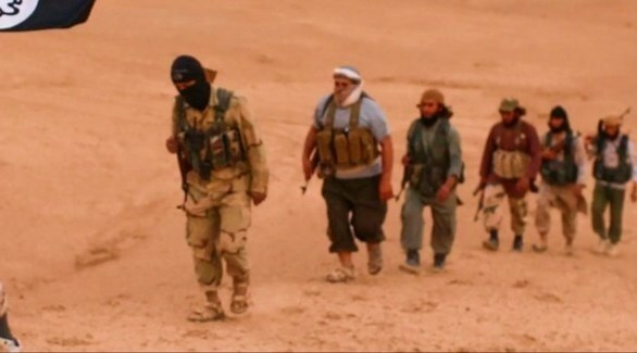 عناصر من تنظيم داعش الإرهابي في العراق (أرشيف)