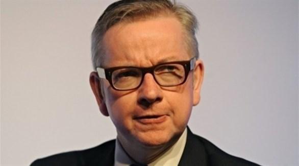 وزير شؤون مجلس الوزراء البريطاني مايكل جوف (أرشيف)
