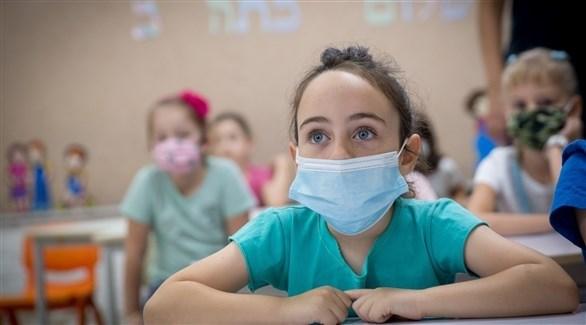 تلاميذ داخل أحد الصفوف في إسرائيل (أرشيف)