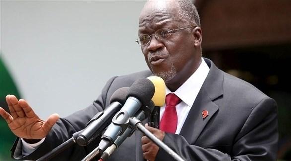 رئيس تنزانيا جون ماجوفولي - أرشيف