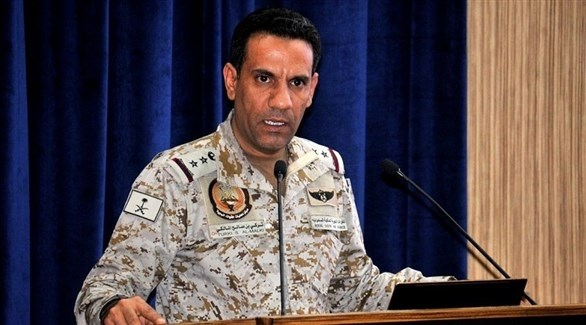 المتحدث باسم تحالف دعم الشرعية في اليمن العميد الركن تركي المالكي (أرشيف)