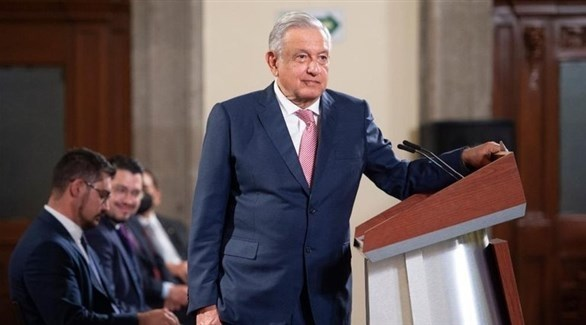 الرئيس المكسيكي أندريس مانويل لوبيز أوبرادور ( أنفو باي)