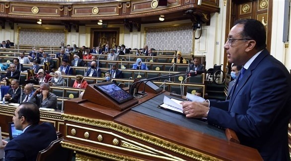 البرلمان المصري برئاسة علي عبدالعال (أرشيف)