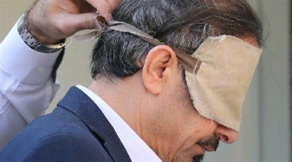 رئيس حركة النضال فرج الله جعب بعد اعتقاله (وكالة فارس للأنباء)