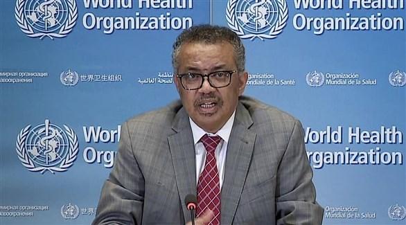 مدير عام منظمة الصحة العالمية تيدروس أدهانوم غيبريسوس  (أرشيف)
