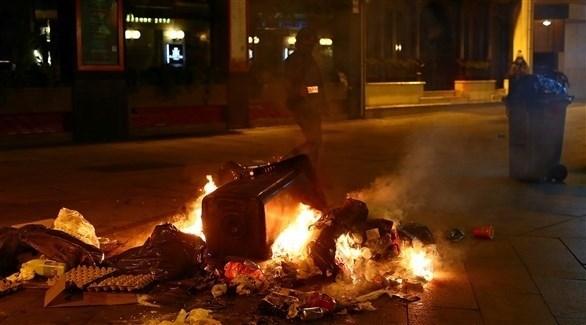 مظاهرات مدريد - رويترز