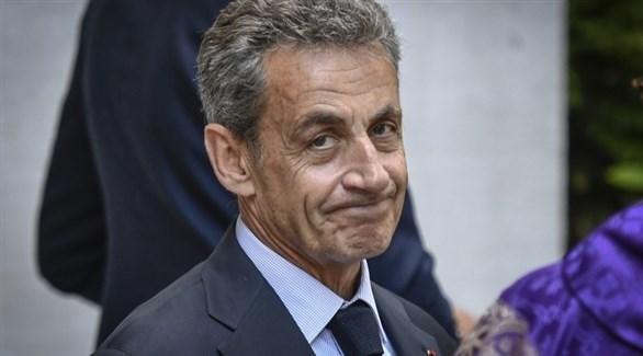 الرئيس الفرنسي الأسبق ساركوزي (أرشيف)