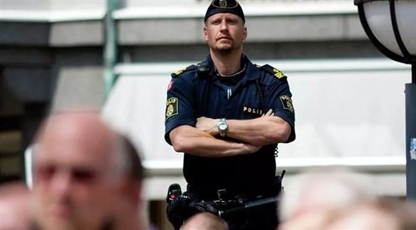 عنصر من الأمن في السويد (أرشيف)