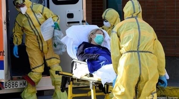 أحد المصابين بكورونا (أرشيف)