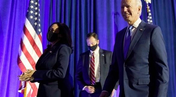 الرئيس الأمريكي المنتخب جو بايدن ونائبه كامالا هاريس (أرشيف)