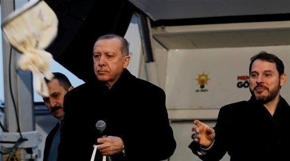 أردوغان وصهره بيرات البيرق