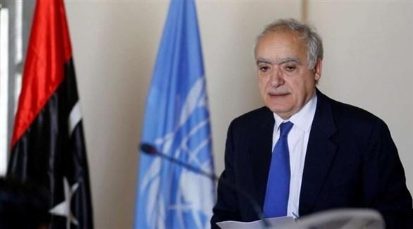 مبعوث الأمم المتحدة السابق إلى ليبيا غسان سلامة (أرشيف)