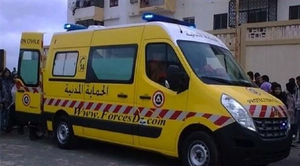 سيارة إسعاف جزائرية (أرشيف)