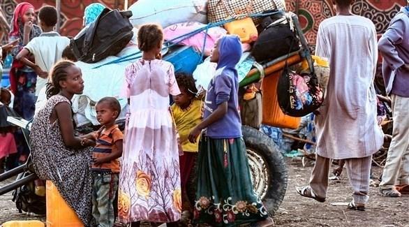 لاجئون إثيوبيون في السودان (رويترز)