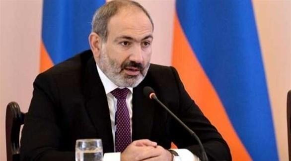 رئيس الوزراء الأرميني باشينيان (أرشيف)