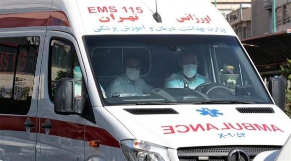سيارة إسعاف إيرانية (أرشيف)