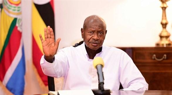 الرئيس الأوغندي يوويري موسيفيني (أرشيف)