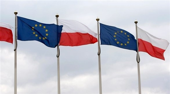 علما بولندا والاتحاد الأوروبي (أرشيف)
