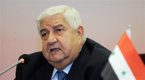 وزير الخارجية السوري الراحل وليد المعلم (أرشيف)