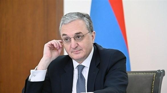 وزير الخارجية الأرمني المستقيل زوهراب مناتساكانيان (أرشيف)