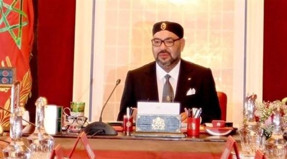 العاهل المغربي الملك محمد السادس (أرشيف)