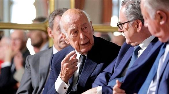 الرئيس الأسبق فاليري جيسكار ديستان (أرشيف)